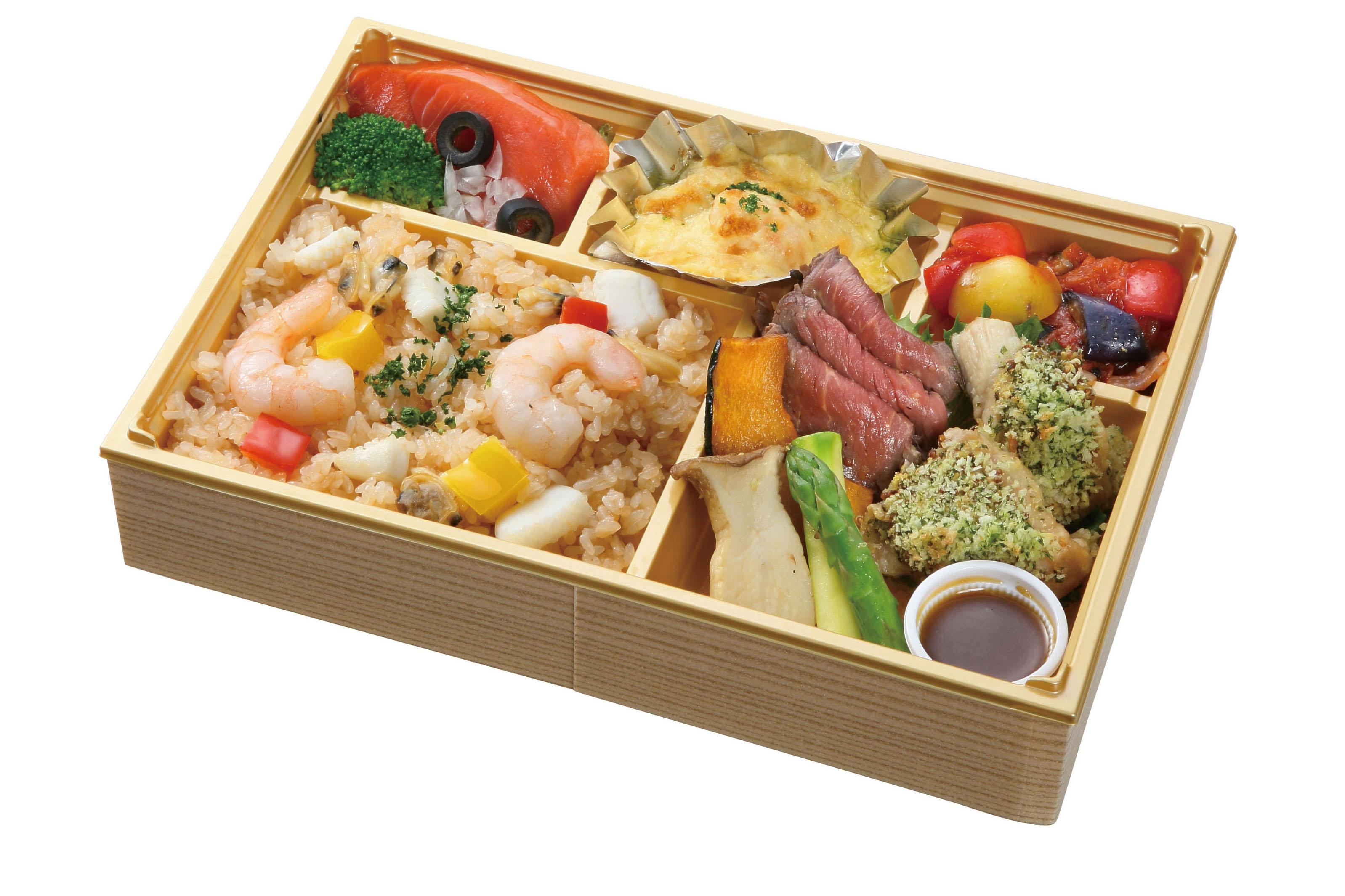 ランチの大人気の幕の内 税込1800円です。 ごはん、味噌汁、お